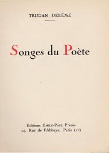 Songes du poète