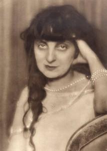 Anna de Noailles par Man Ray vers 1930