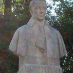Buste de Jules Laforgue dans le jardin Massey de Tarbes