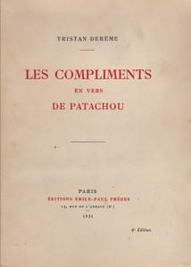 Les compliments en vers de Patachou
