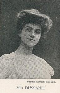 1907 - Béatrix Dussane dans l'Amour veille de Caillavet et de Flers - Comédie - Française