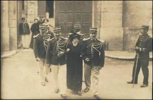 Alice Crespy, procès d'Agen, août 1913 (trouvé sur delcampe.net)