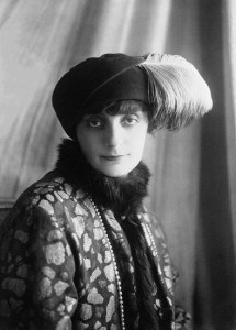 1922 - Anna de Noailles (agence de presse Meurisse, wikipedia)