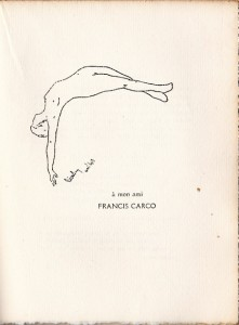 1913 - La flûte fleurie - dessin de Pierre Blazy