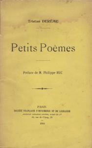 couverture de Petits poèmes 1910