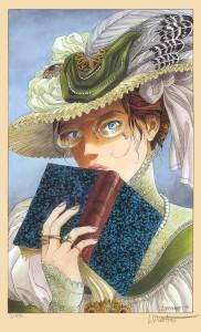 Bertille dans la bande dessinée Sasmira de Vicomte