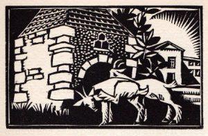1928-Sous les troènes du Béarn, Autour de La Fontaine et de ses Élégies