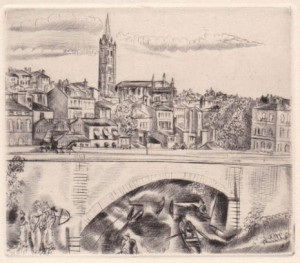 1927 - Toulouse - frontispice d'Hermine David