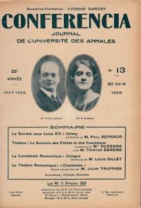 1928 - la querelle des Poètes et des comédiens - 1ère parution