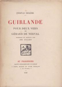 Guirlande pour deux vers de Gréard de Nerval