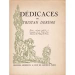 Dédicaces de Tristan Derème