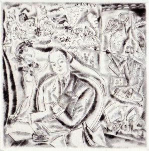 1927-Tristan Derème par Hermine David dans Le zodiaque ou les étoiles de Paris