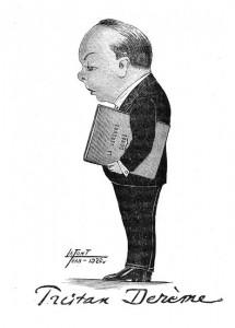 1922 - Tristan Derème par Jean Lafont