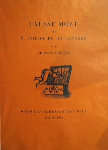 Fausse mort de M. Théodore Decalandre