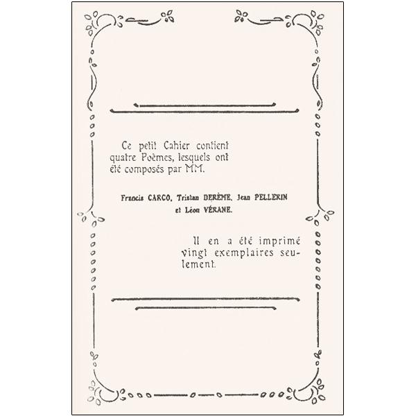 Vœux Dans Lœil Du Rat Tristan Derème