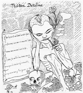 1913 Tristan Dèreme dans les Facettes par Lucien Dauny