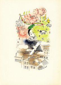 Henriette Huchard illustre les Songes du poète de Tristan Derème